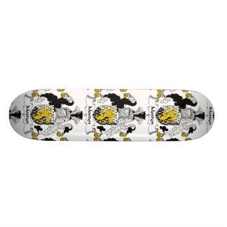 Escudo de la familia de Mostyn Skate Board