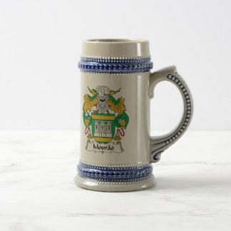 Escudo de la familia de Mourao Jarra De Cerveza