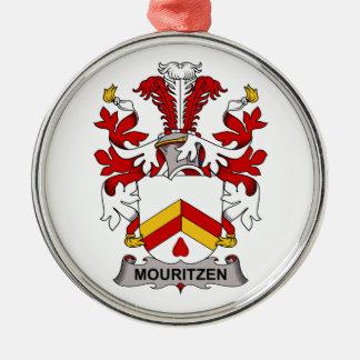 Escudo de la familia de Mouritzen Ornatos