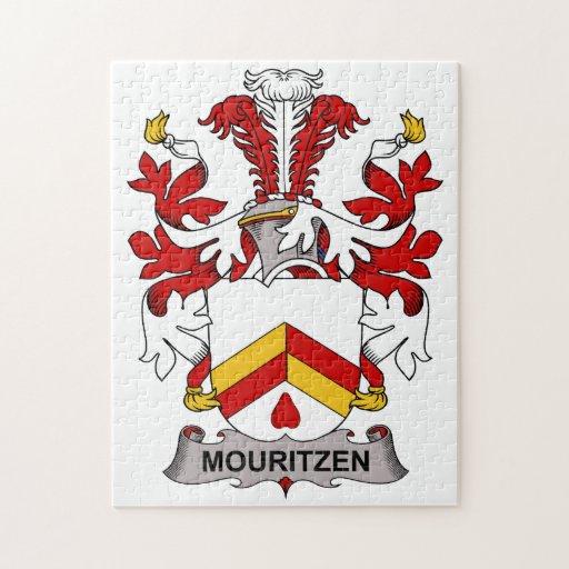 Escudo de la familia de Mouritzen Puzzles Con Fotos