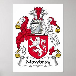 Escudo de la familia de Mowbray Impresiones