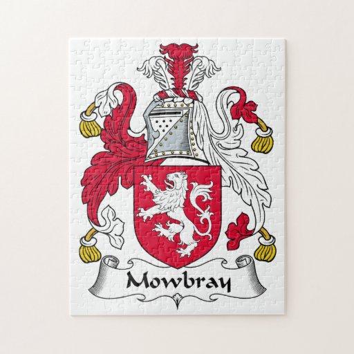Escudo de la familia de Mowbray Puzzles