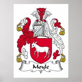 Escudo de la familia de Moyle Poster