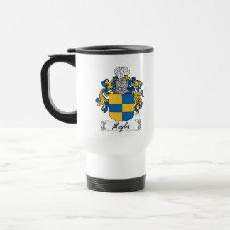 Escudo de la familia de Muglia Tazas De Café
