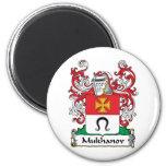 Escudo de la familia de Mukhanov Imanes Para Frigoríficos