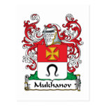 Escudo de la familia de Mukhanov Postal