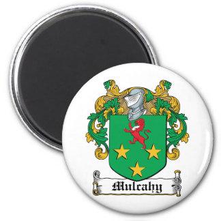 Escudo de la familia de Mulcahy Imán Para Frigorifico