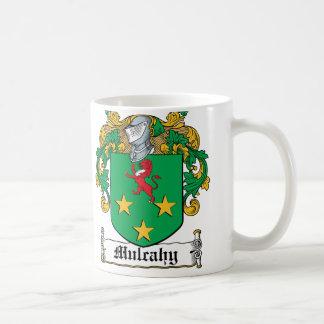 Escudo de la familia de Mulcahy Taza