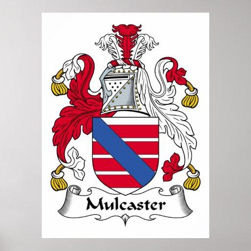 Escudo de la familia de Mulcaster Impresiones