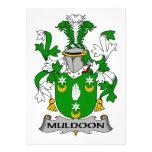 Escudo de la familia de Muldoon Anuncios Personalizados