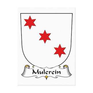 Escudo de la familia de Mulerein Impresiones De Lienzo