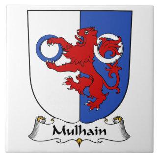 Escudo de la familia de Mulhain Teja Ceramica