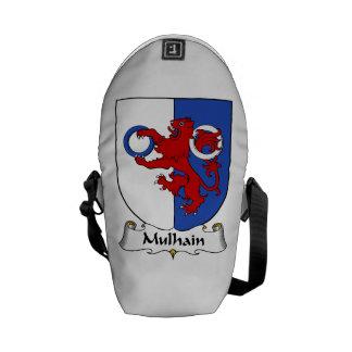 Escudo de la familia de Mulhain Bolsa De Mensajería