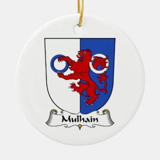 Escudo de la familia de Mulhain Ornamente De Reyes