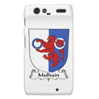 Escudo de la familia de Mulhain Motorola Droid RAZR Fundas