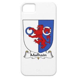 Escudo de la familia de Mulhain iPhone 5 Cárcasa