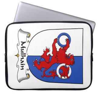 Escudo de la familia de Mulhain Fundas Ordendadores