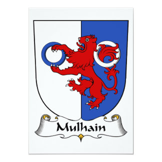 Escudo de la familia de Mulhain Comunicado Personalizado