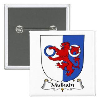 Escudo de la familia de Mulhain Pin