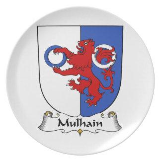 Escudo de la familia de Mulhain Plato