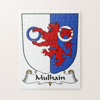 Escudo de la familia de Mulhain Puzzles
