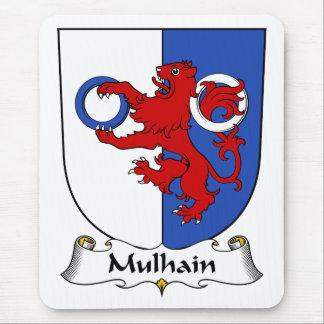 Escudo de la familia de Mulhain Tapetes De Raton