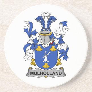 Escudo de la familia de Mulholland Posavasos Diseño