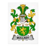 Escudo de la familia de Mullady Comunicados Personales