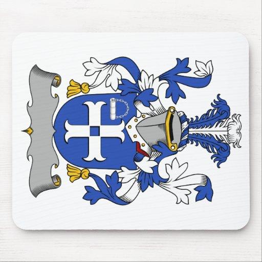 Escudo de la familia de Mullock Alfombrillas De Ratón