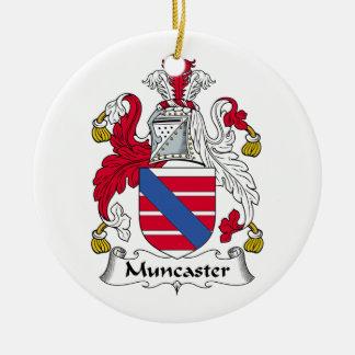 Escudo de la familia de Muncaster Ornamente De Reyes