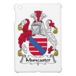 Escudo de la familia de Muncaster iPad Mini Funda