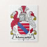 Escudo de la familia de Muncaster Rompecabeza