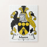 Escudo de la familia de Munn Rompecabezas