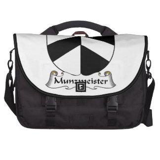 Escudo de la familia de Munzmeister Bolsa Para Ordenador