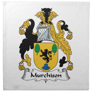 Escudo de la familia de Murchison Servilleta De Papel