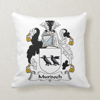 Escudo de la familia de Murdoch Cojines