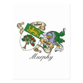 Escudo de la familia de Murphy Postales