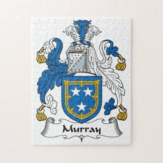 Escudo de la familia de Murray Rompecabezas Con Fotos