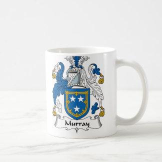 Escudo de la familia de Murray Tazas De Café