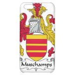 Escudo de la familia de Muschamps
