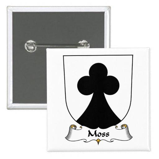 Escudo de la familia de musgo pin