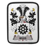 Escudo de la familia de Muus Funda Para iPads