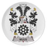 Escudo de la familia de Muus Plato