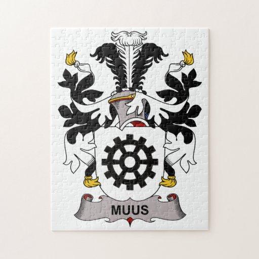 Escudo de la familia de Muus Rompecabezas