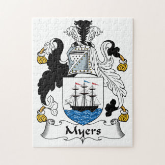 Escudo de la familia de Myers Puzzle