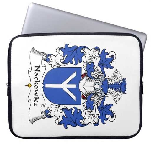 Escudo de la familia de Nackowicz Mangas Portátiles