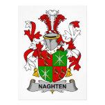 Escudo de la familia de Naghten Comunicados Personalizados