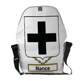 Escudo de la familia de Nance Bolsas Messenger