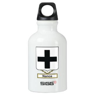Escudo de la familia de Nance Botella De Agua