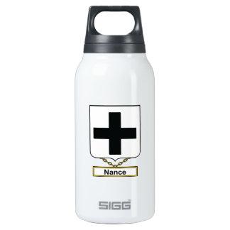 Escudo de la familia de Nance Botella Isotérmica De Agua
